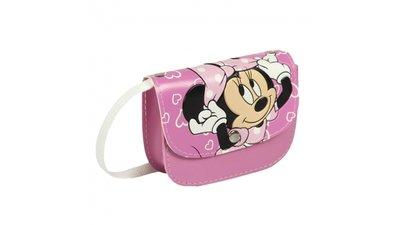 8e8f7b989c6 Disney Minnie Mouse Schoudertas 13x10x4 cm Roze/Wit