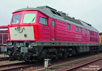 ~ Diesellok BR 232 DB AG NL Einsatz VI + PluX22 Dec.