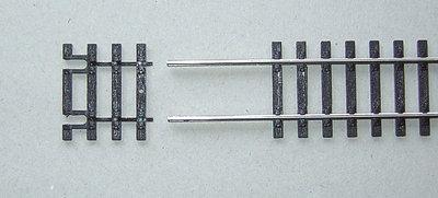 Gleisschwellen 31mm für Flexgleis VE12