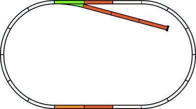 PIKO A-Gleis mit Bettung Gleis Set B