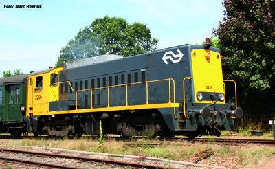 ~ Diesellok/Sound Rh 2200 NS gelb-grau IV + PluX22 Dec.