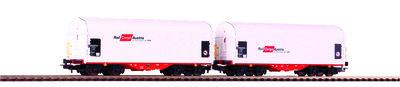 2er Set Schiebeplanenwagen Rail Cargo Austria VI