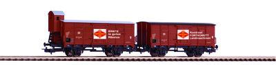 2er Set Güterwagen Fortschritt DR III