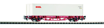Containertragwagen NS VI, 2X20' Container