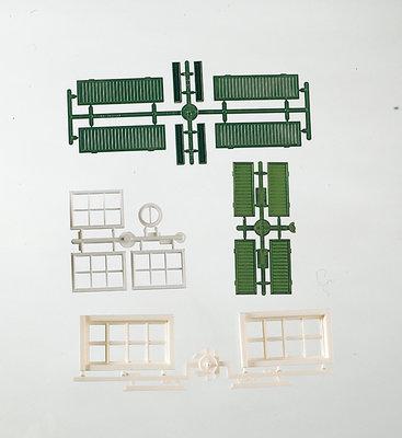 G-Bauteile: Fenster + -läden
