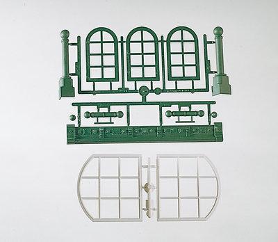 G-Bauteile: Rundbogenfenster