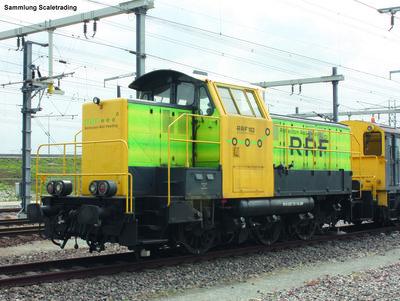 Diesellok 102 RRF ex NMBS/SNCB VI + DSS PluX22