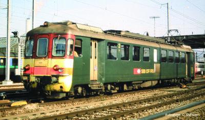~Set Triebwagen + Steuerwagen RBe 4/4 Seetal IV + PluX22 Dec