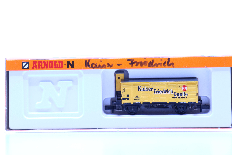 """Arnold 4273 N goederen wagon """"Kaiser Friedrich Quelle"""" DB"""