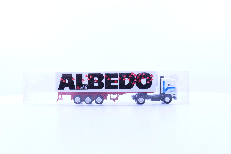 """vrachtwagen met oplegger """"albedo"""""""