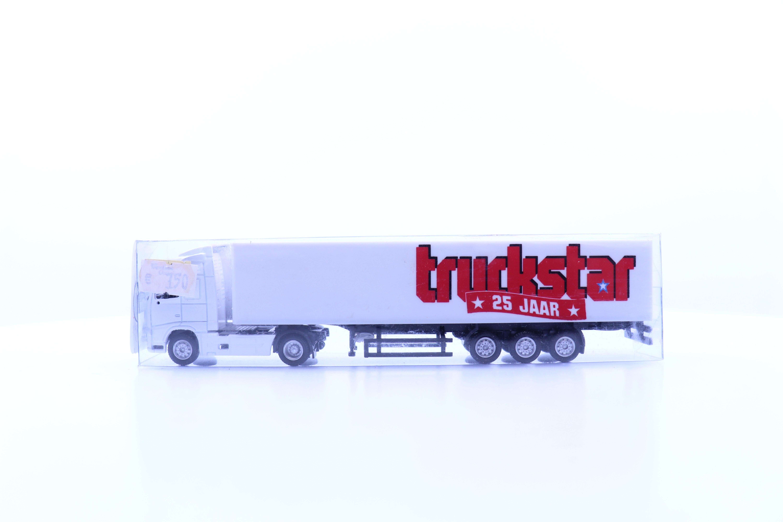 """vrachtwagen met oplegger """"25 jaar truckstar"""""""
