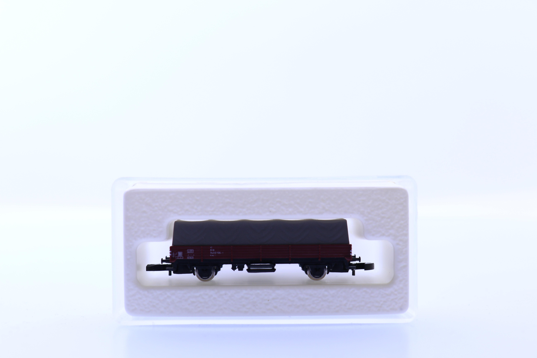marklin 8665 Z platte bak wagon met canvas lading