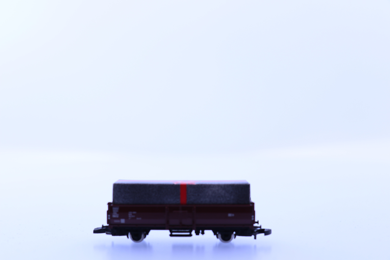 marklin Z lage bak wagon met kado lading
