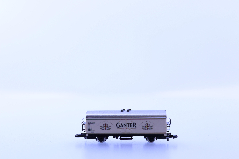 """marklin Z gesloten goederen wagon """"ganter"""""""
