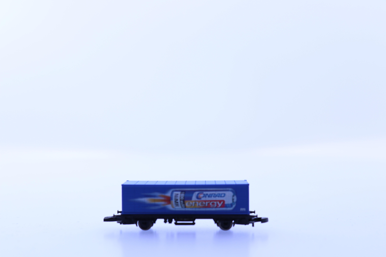 """marklin Z container wagon """"conrad energie"""""""