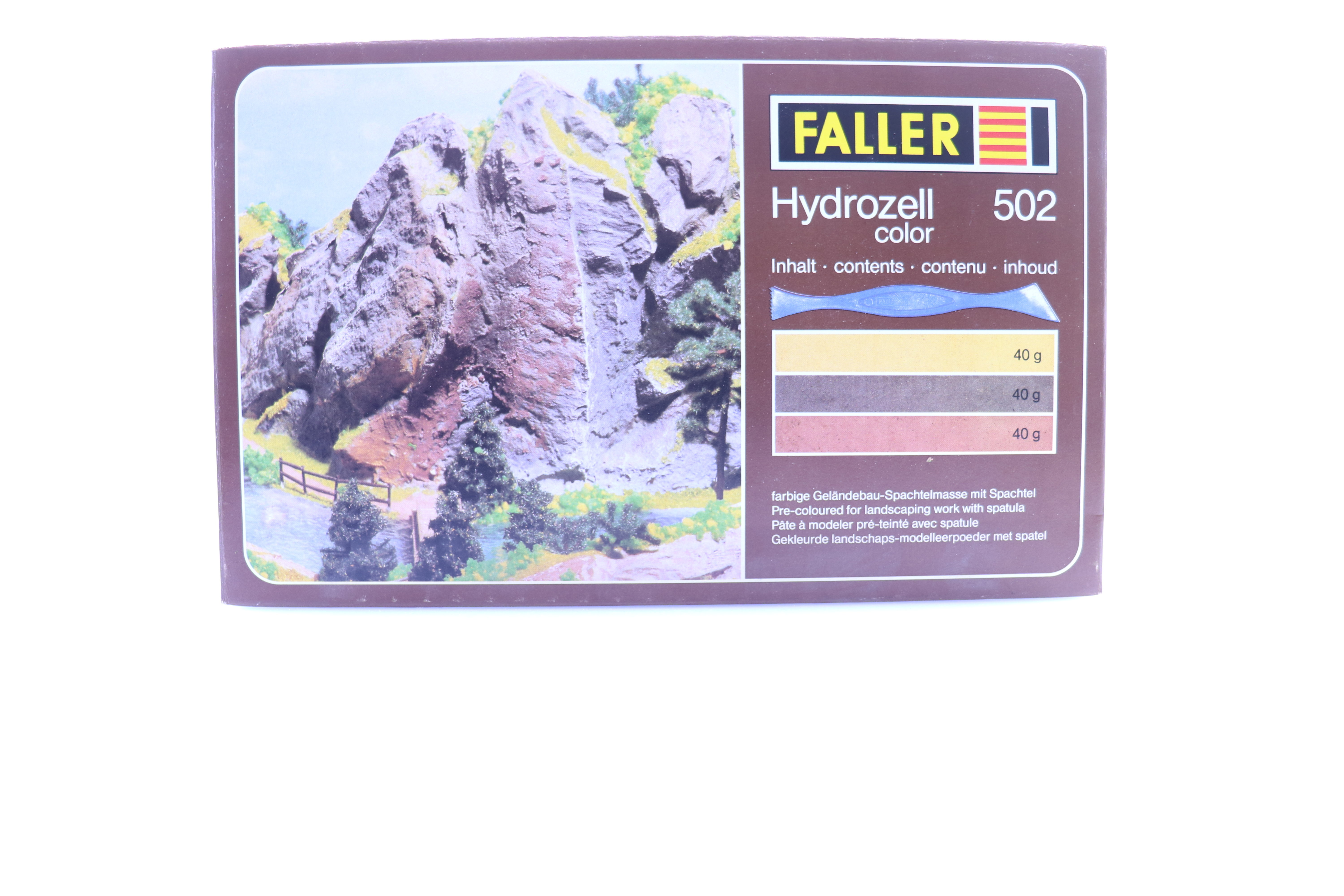 Faller 502 Hydrozell color N/HO