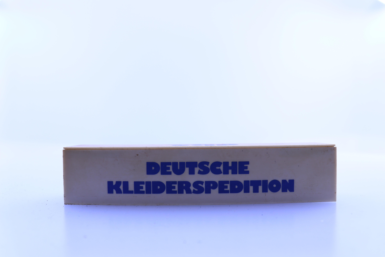 """onbekend merk container HO """"deutsche kleiderspedition"""""""