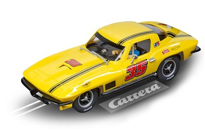 "Carrera DIG132 Chevrolet Corvette Sting Ray ""No.35"" - Racebaanauto"