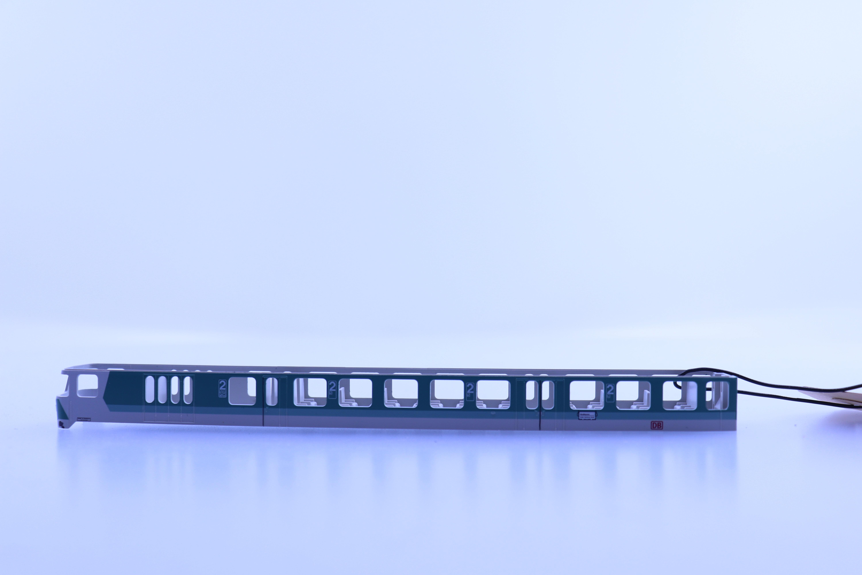 fleischmann 8143 N kap voor stuurstand wagon 2de klasse DB