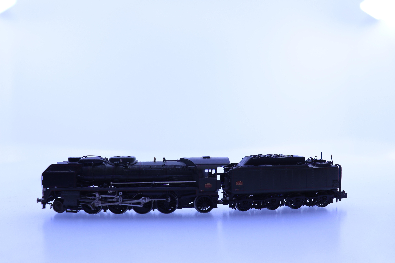lemaco N stoom locomotief met tender Serie 141 P SNCF *Verzamel object*