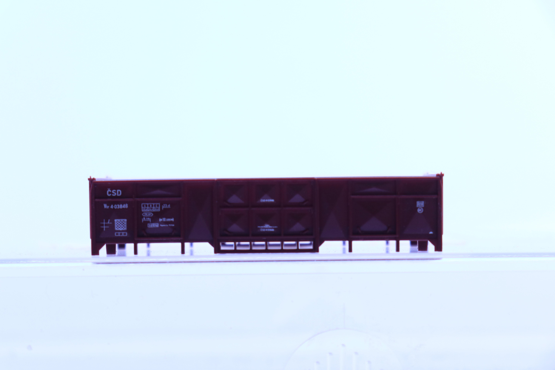 fleischmann 8204-6 N opbouw voor hoge bak wagon