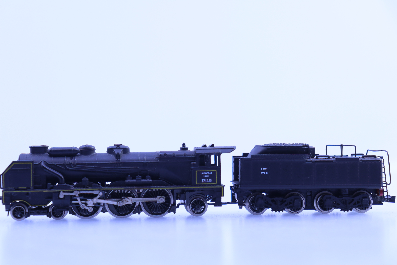 "Rivarossi 9180 N stoom locomotief ""LaChapelle"""