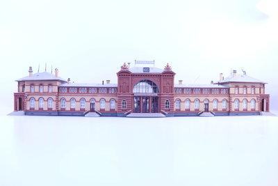 Station Bonn N - gebouwd bouwpakket